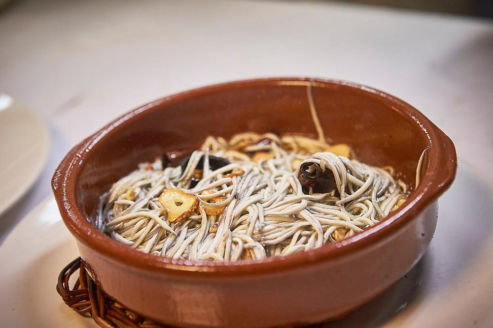 Angulas a la Bilbaína (O'Pazo) - GastroMadrid