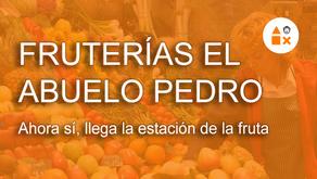 Ahora sí, la estación de la fruta ha llegado a Fruterías El Abuelo Pedro