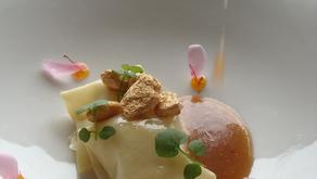 Raviolis de perdiz estofada con trufa y setas de temporada, una receta de Elena Lucas del Restaurant