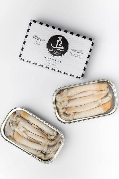 La Real Conservera (Mejores navajas en conserva de España) - GastroMadrid