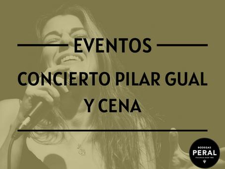 """Concierto de Pilar Gual & Arturo Ballesteros y Cena """"Catering"""" el próximo 11 de septiembre"""