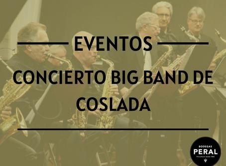 Concierto de la Big Band de Coslada el próximo 19 de mayo
