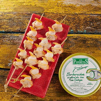Peperetes (Mejores berberechos) - GastroMadrid