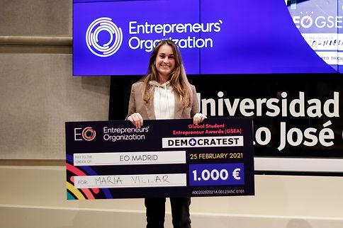 María Villar Foodinn App (Actualidad) -