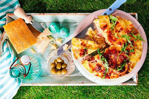Frittata de Parmigiano Reggiano y patatas nuevas (Recetario) - GastroSpain.jpg