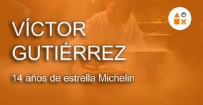 Víctor Gutiérrez, 14 años de estrella Michelin