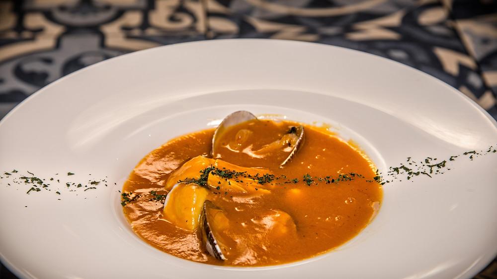 Sopa de pescado (Los Montes de Galicia) - GastroMadrid