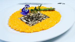 Risotto de oro con azafrán de Gioia, tradición y creatividad