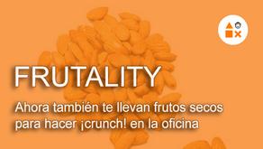 Frutality, ahora también te llevan frutos secos para hacer ¡crunch! en la oficina #VítaminateMientra