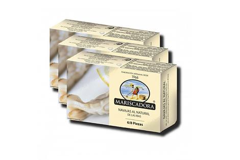 Conservas Mariscadora (Mejores navajas en conserva de España) - GastroMadrid