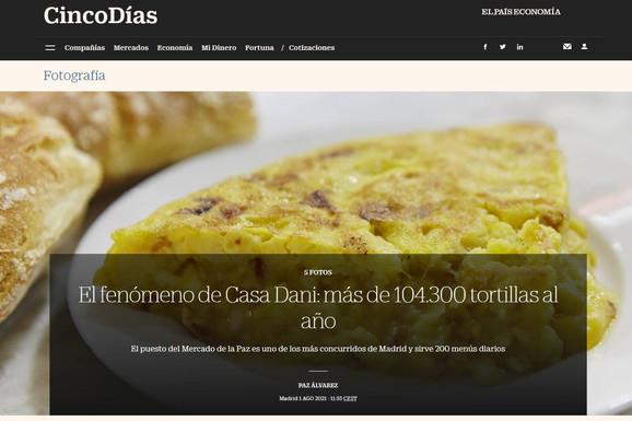 Cinco Días - El País