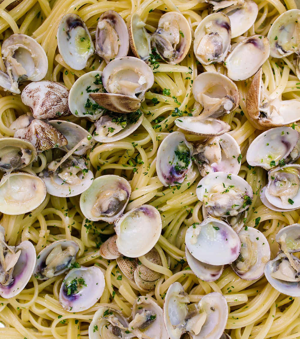 Espaguetis con almejas (Matteo Cucina Italiana) - GastroMadrid