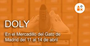 Doly en el Mercadillo del Gato de Madrid del 11 al 14 de abril