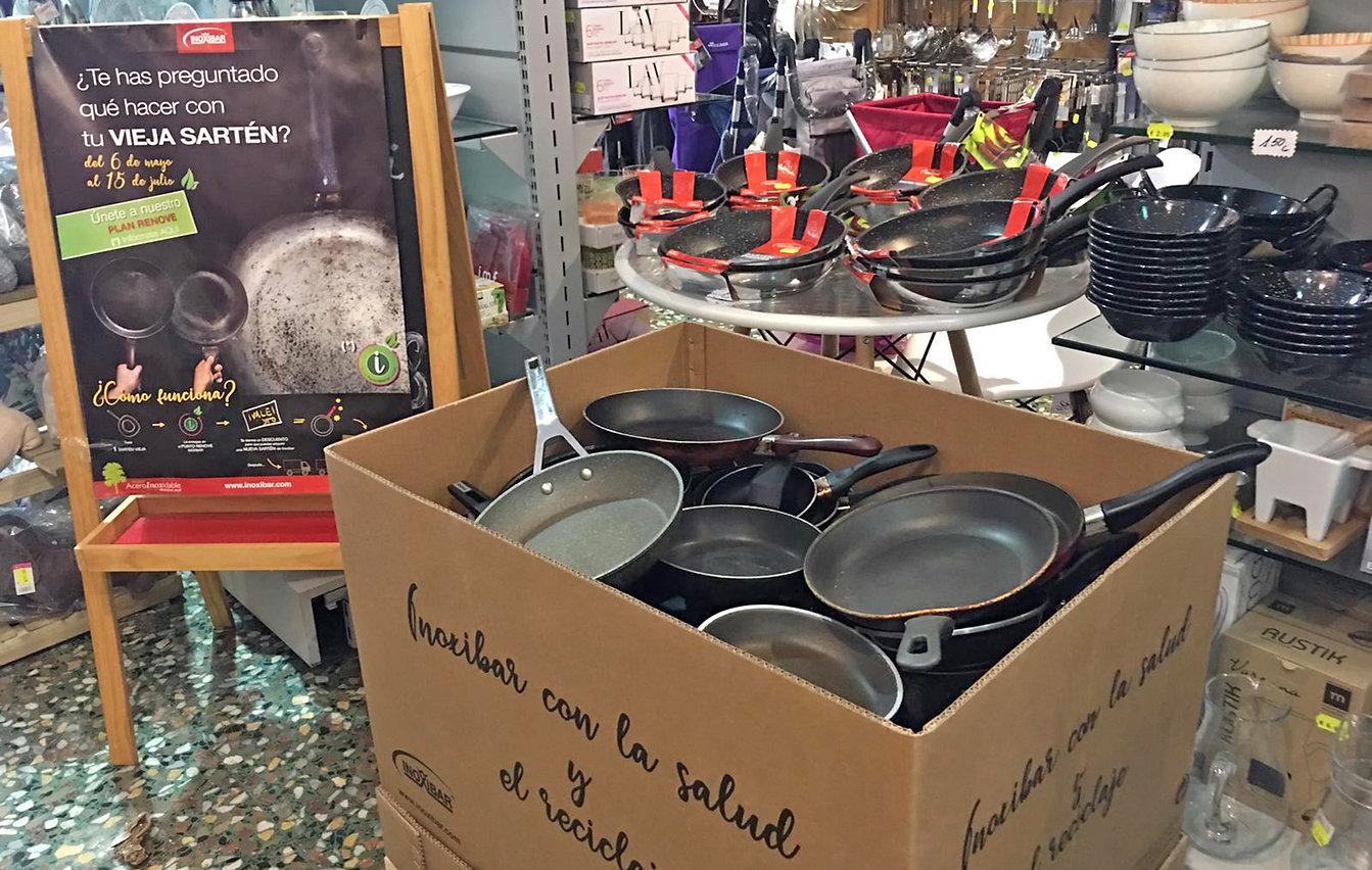 Campaña reciclaje Inoxibar (Producto) - GastroMadrid