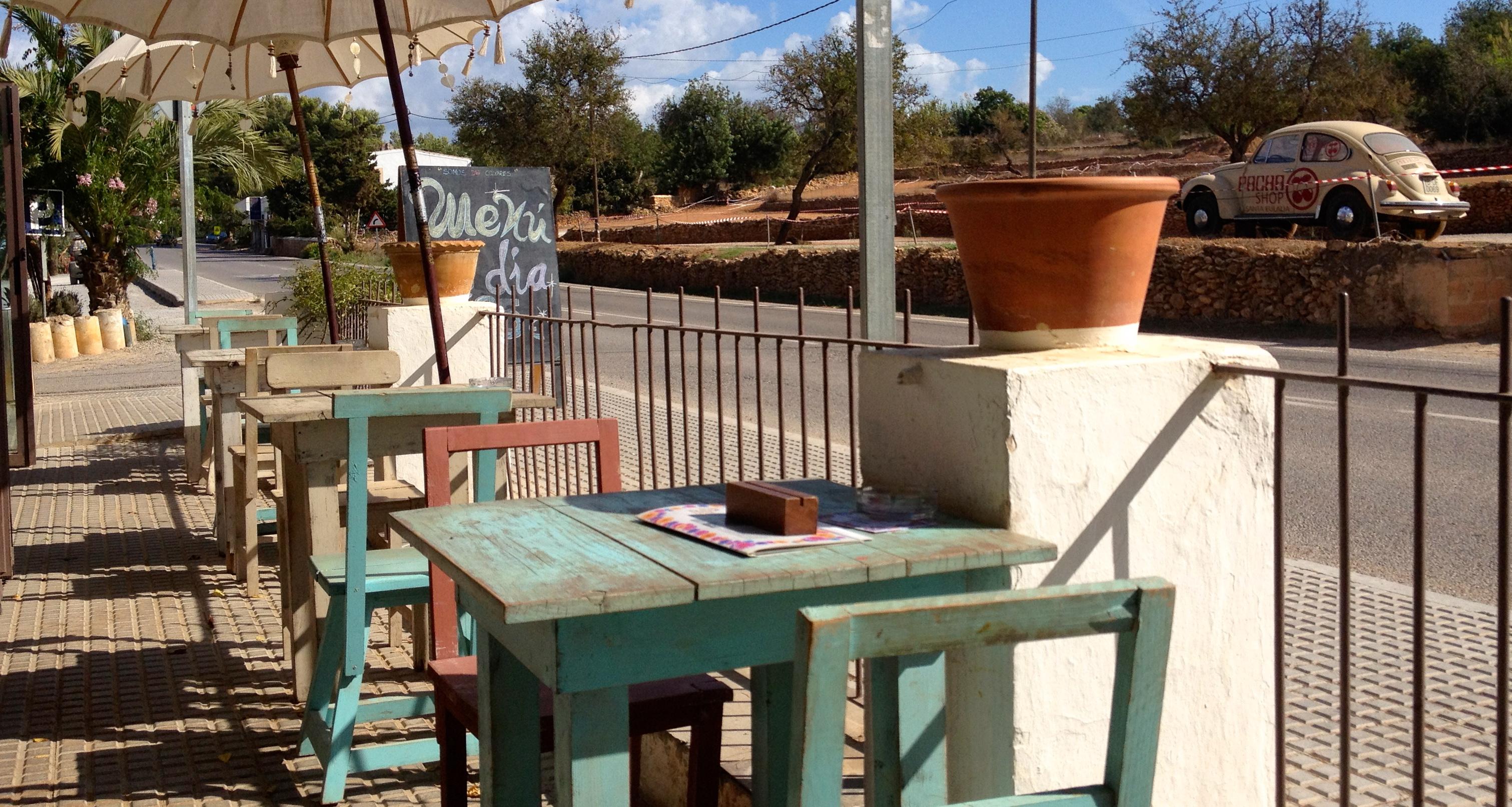 Cafeen på Las Dalias