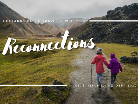 October 2020 Newsletter: Reconnections