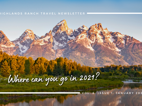 January 2021 Newsletter: Where Can You Go in 2021?