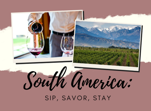 In South America, the Wine Is the Adventure