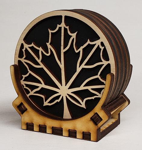 Maple Coaster Set