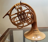 Hand Carved French Horn