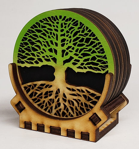 Tree of Life Coaster Set