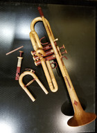 Hand carved Trumpet