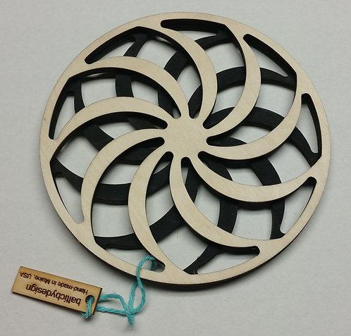 Pinwheel Trivet