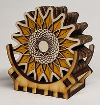 coaster set sunflower.jpg