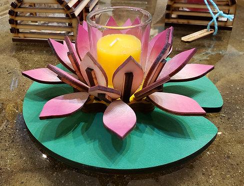 Pink Lotus Votive