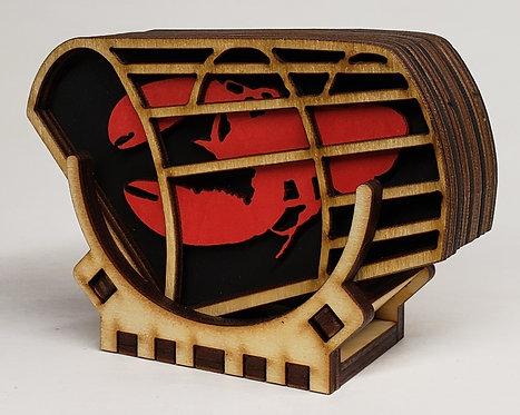 Lobster Trap Coaster Set