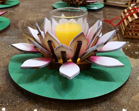 White Lotus Votive
