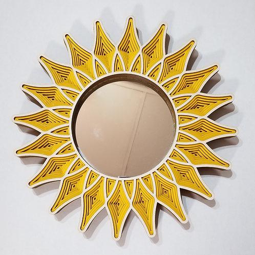 Sunflower Mirrors