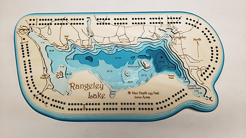 Rangeley Lake Cribbage Board