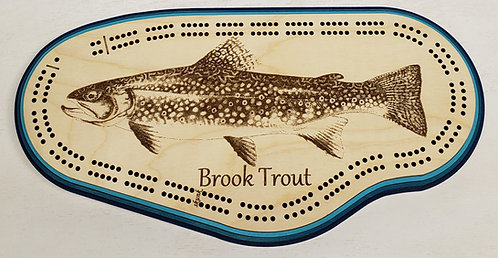 Brook Trout Cribbage