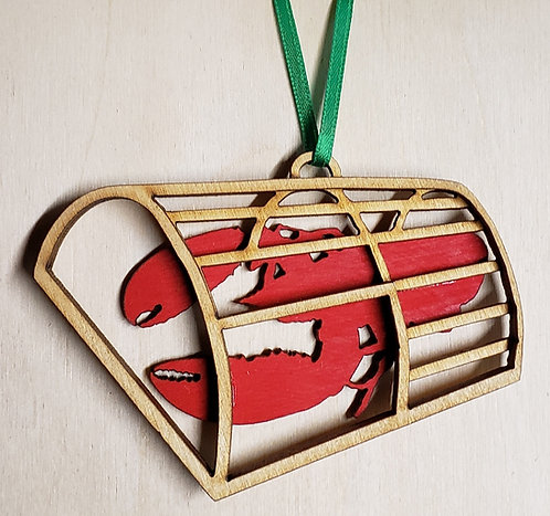Lobster Trap Ornament