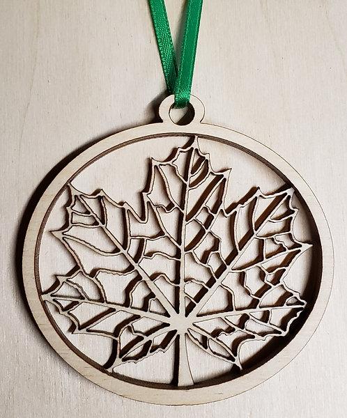 Maple Ornament