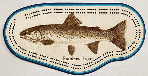 Rainbow Trout Cribbage