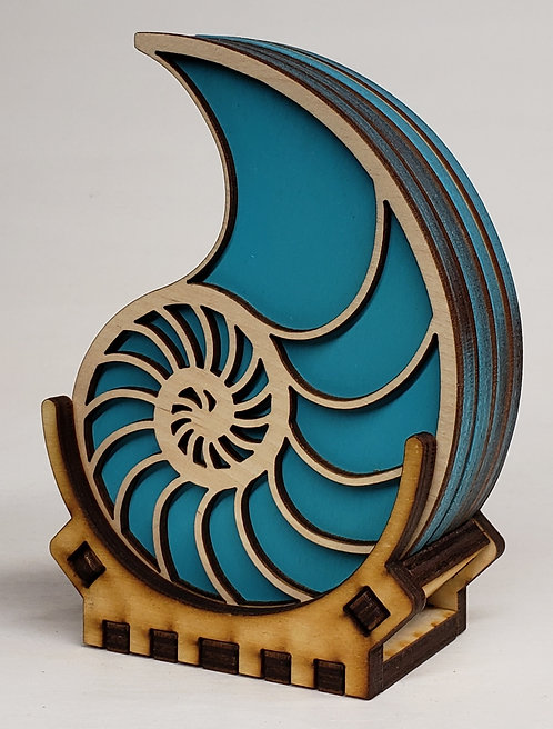 Nautilus Coaster Set