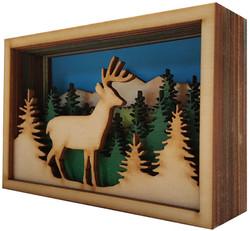 Deer (angled view)