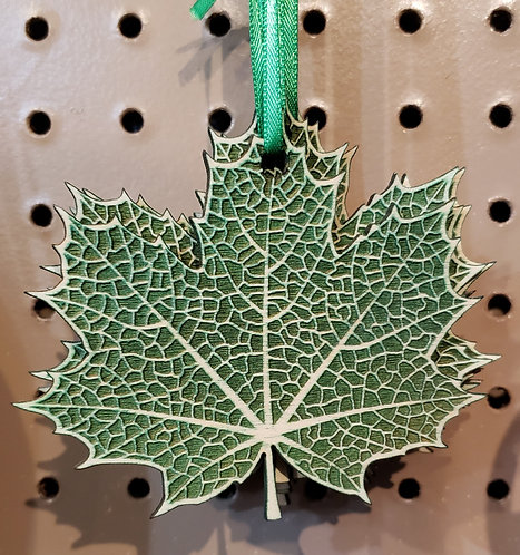 Maple Solid Ornament