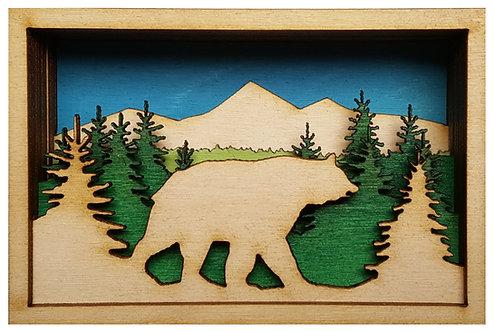 Bear Shadow Box