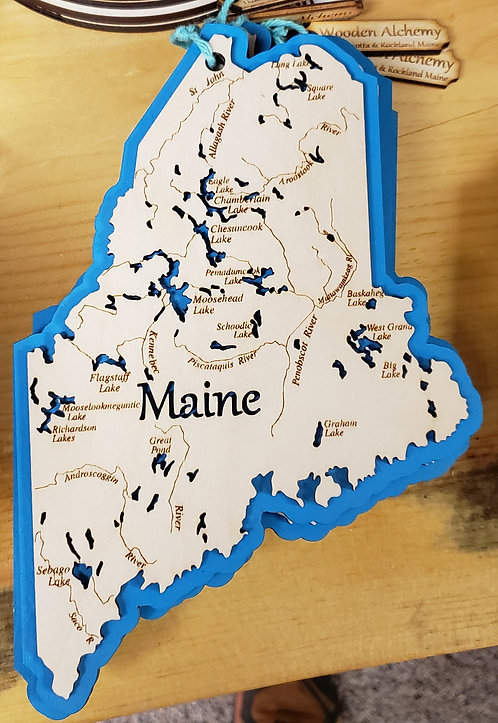 State of Maine Trivet