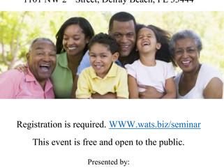 WATS Happenin'? (Estate Planning Seminar)