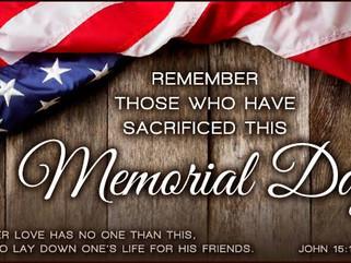 WATS Happenin'? (Happy Memorial Day)