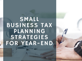 Year-End Tax Planning for 2017 for Businesses