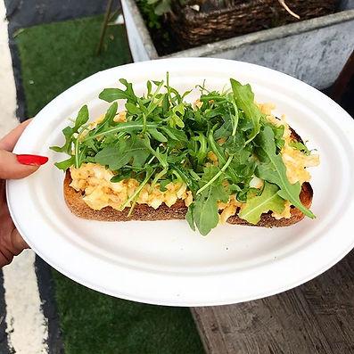Egg salad toast is the new avocado toast