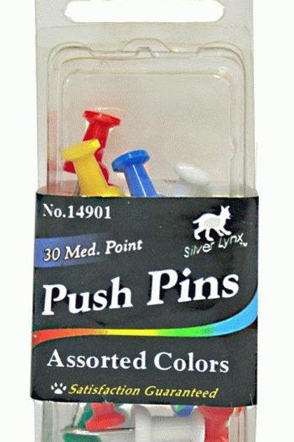 Push pin 30 CT