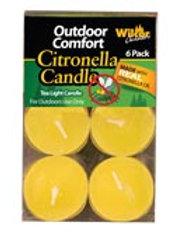 Citronella tea light 6PK