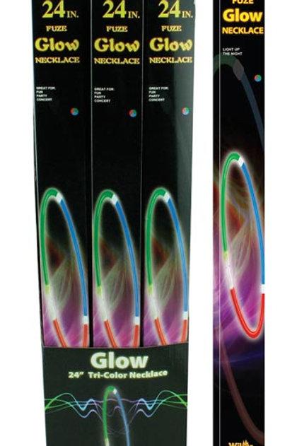 Glow Necklace Tri Color
