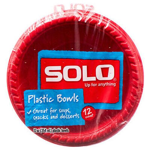 Plastic Solo Bowls